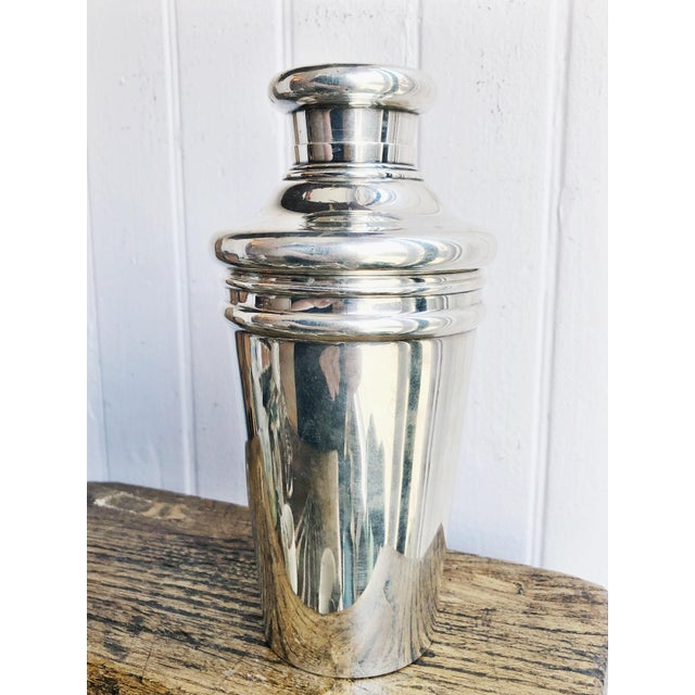 Antique Tiffany and Co Sterling Cocktail Shaker For Sale - Image 12 of 12