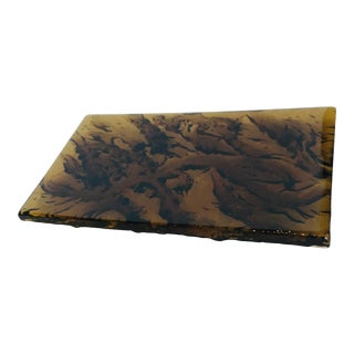 Unique Glass Cutting or Charcuterie Board For Sale