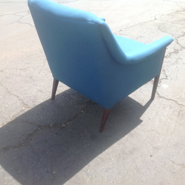 Mid-Century Style Club Chair For Sale - Image 4 of 5