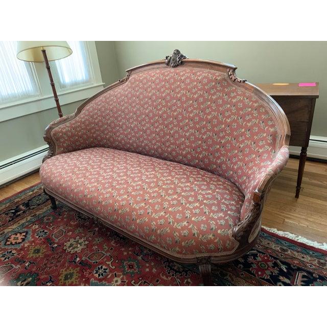Elegant Settee For Sale - Image 9 of 9