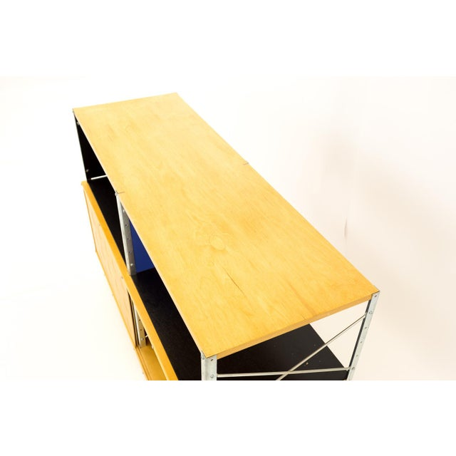 Mid-Century Modern Charles and Ray Eames for Herman Miller Esu Storage Unit Shelves For Sale - Image 11 of 13