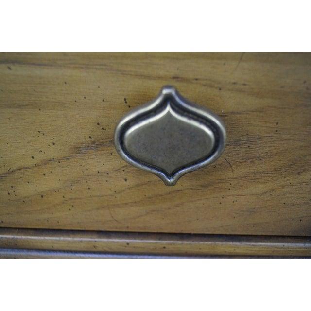 Drexel Plaudit Vintage Walnut Nightstands - Pair - Image 7 of 10