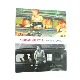 Norman Rockwell Behind the Camera Book For Sale