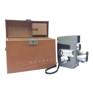 1950's Vintage Revere Eye-Matic Movie Camera For Sale