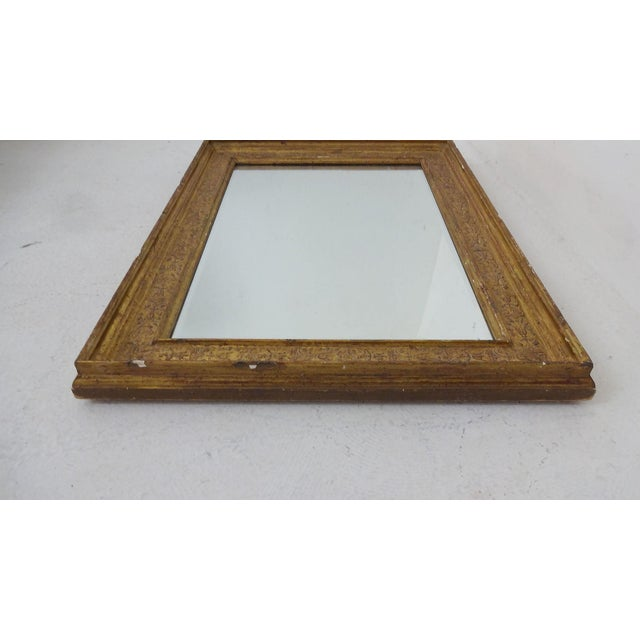 Gilded French Wall Mirror For Sale - Image 4 of 6