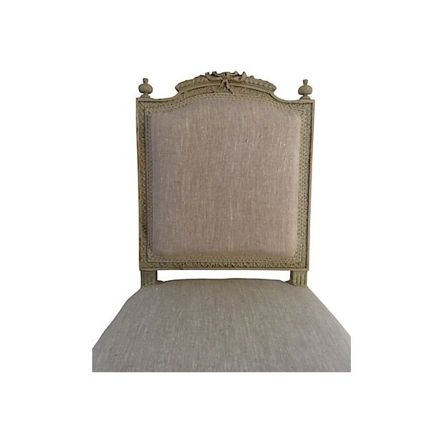 Petite French Side Chair - Image 6 of 7