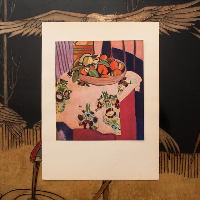 "Modern 1940s Henri Matisse, ""Oranges"" Original Period Swiss Lithograph For Sale - Image 3 of 8"