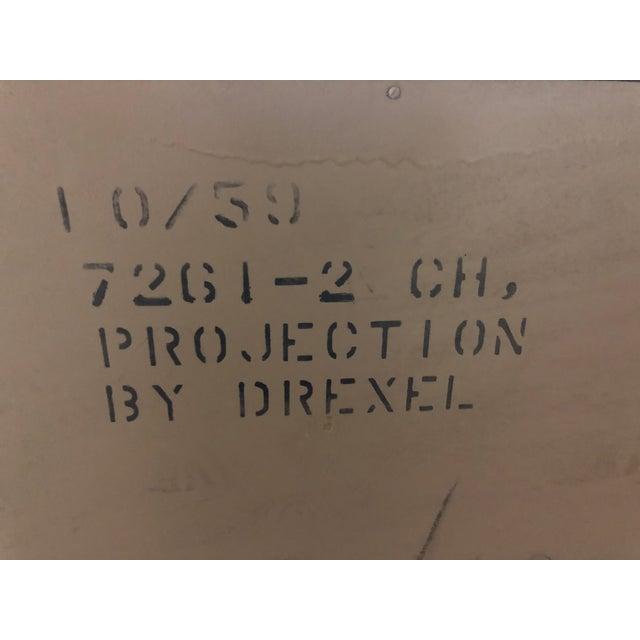 John Van Koert Drexel Projection 1959 Highboy Dresser For Sale - Image 11 of 12