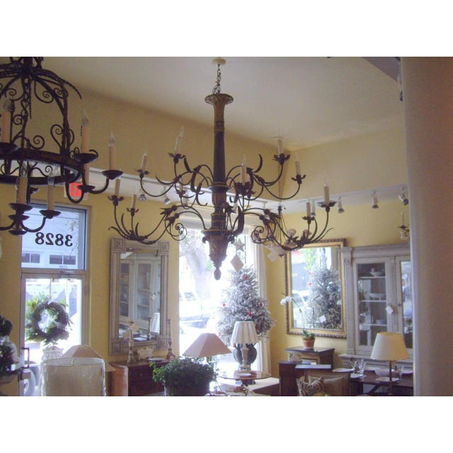 Very Large Late 18th/19th Century Italian Chandelier For Sale In New Orleans - Image 6 of 11