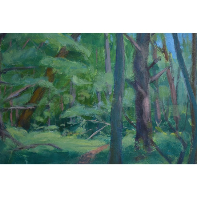 """Path on a Summer Day"" Landscape Painting - Image 3 of 5"