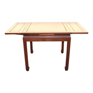 Mid-Century Modern Walnut Game Table For Sale