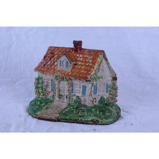 1950s 1950s Vintage Shabby Chic Doorstop For Sale - Image 5 of 6