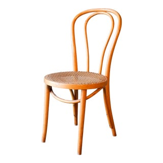 1950s Michael Thonet for Zpm Radomsko No. 18 Bentwood Chair For Sale