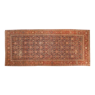 """Antique Malayer Rug Runner - 6'8"""" x 15'6"""" For Sale"""