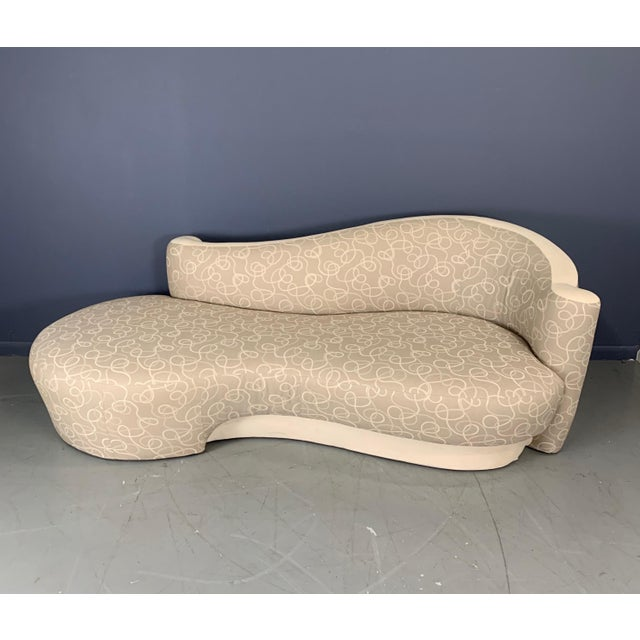 Vintage Weiman Sculptural Cloud Sofas- a Pair For Sale - Image 9 of 10