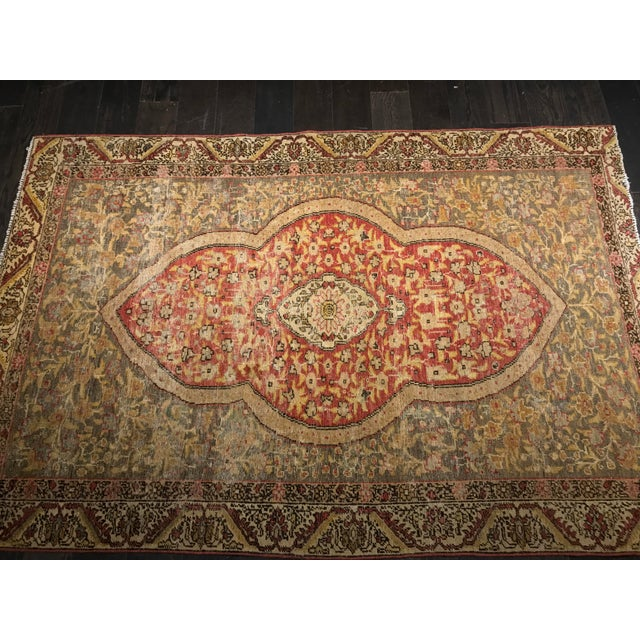 Bellwether Rugs Distressed Look Vintage Turkish Oushak Area - 4'x6' - Image 3 of 11