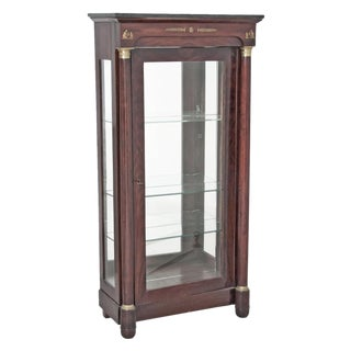 19th Century French Empire Vitrine For Sale
