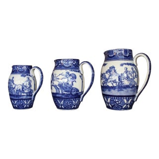 Royal Doulton 3 Piece Graduating Pitcher Set For Sale