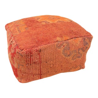 Moroccan Rug Pouf Cover For Sale