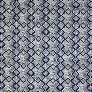 """Cape Town Indigo"" Sunbrella Indoor/Outdoor Upholstery Fabric"