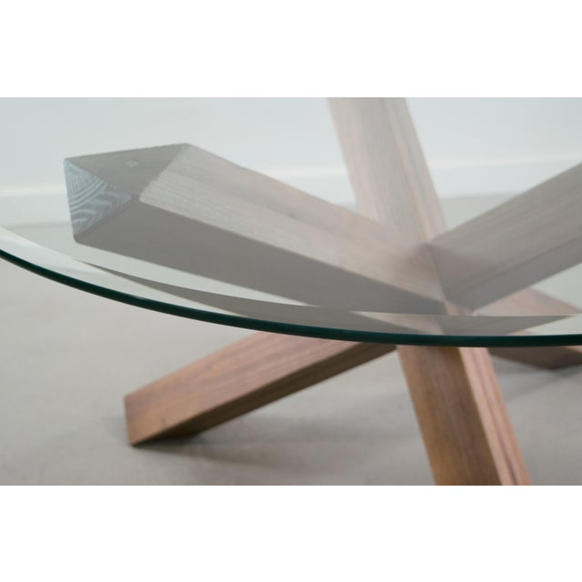 Sculptural Cerused White Oak Dining Table Attributed to Ralph Lauren - Image 8 of 11