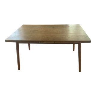 1950s Poul Volther Fdb Mobler Oak Extension Dining Table For Sale