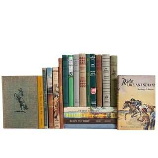 Midcentury Mix: Vintage Horse Stories for Children - Set of 20