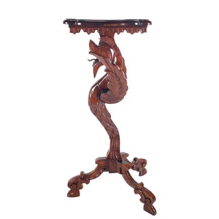 Victorian Dragon Side Table
