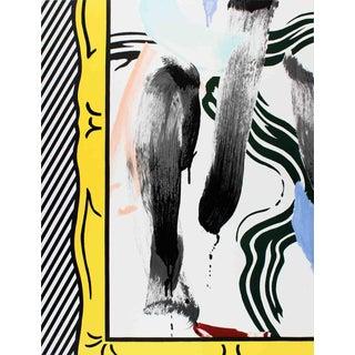 Roy Lichtenstein - Brushstrokes - 1983 Lithograph For Sale