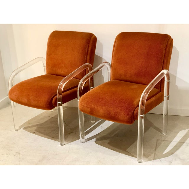 Lucite Armchairs by Lion in Frost. America, C. 1970s - a Pair For Sale - Image 13 of 13