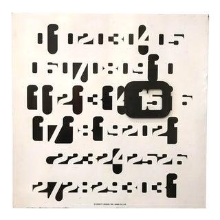 Oggetti Jean Pierre Vitrac Imbroglio Wall Calendar For Sale