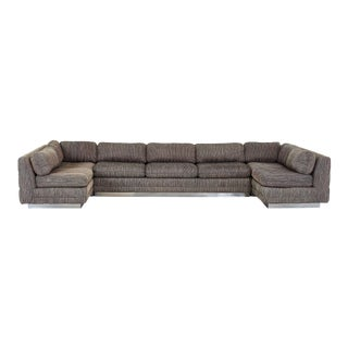 Interior Craft Three Piece Sectional, 1970 For Sale