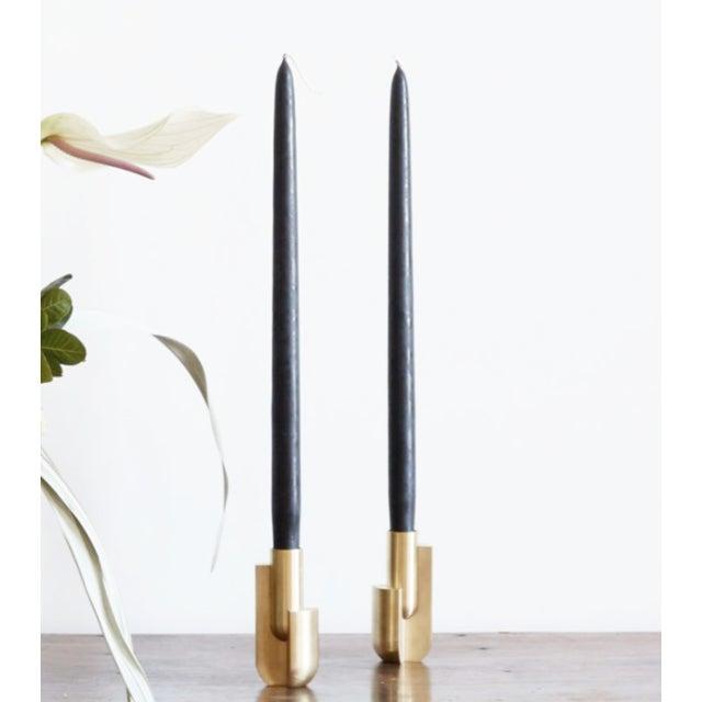 Radnor Farrah Sit Trakata Candlesticks - Pair For Sale - Image 4 of 4