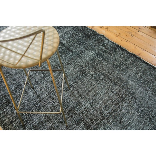 "Vintage Overdyed Gallery Rug Runner - 4'11""x11'10"" - Image 9 of 9"