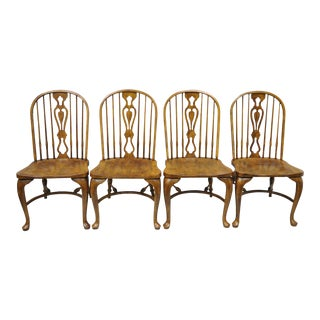Drexel Heritage Chatham Oak Dining Chairs - Set of 4
