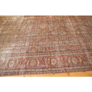 "Vintage Distressed Mahal Carpet - 5'8"" X 8'8"" Preview"