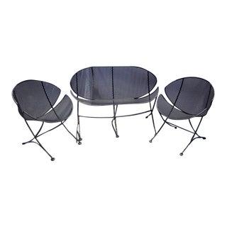 "1960s Maurizio Tempestini ""Clamshell"" Lounge Set for Salterini For Sale"