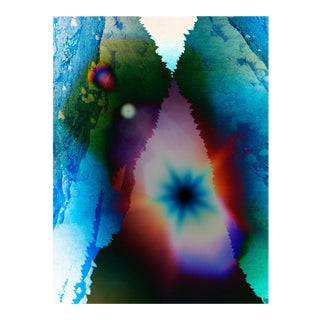 """Contemporary Abstract Photography """"Sun Mountain Wild Vision"""" by Jason Engelund For Sale"""