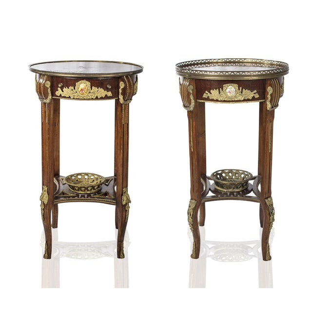 Louis xv french ormolu side table a pair chairish for 0co om cca 9 source table