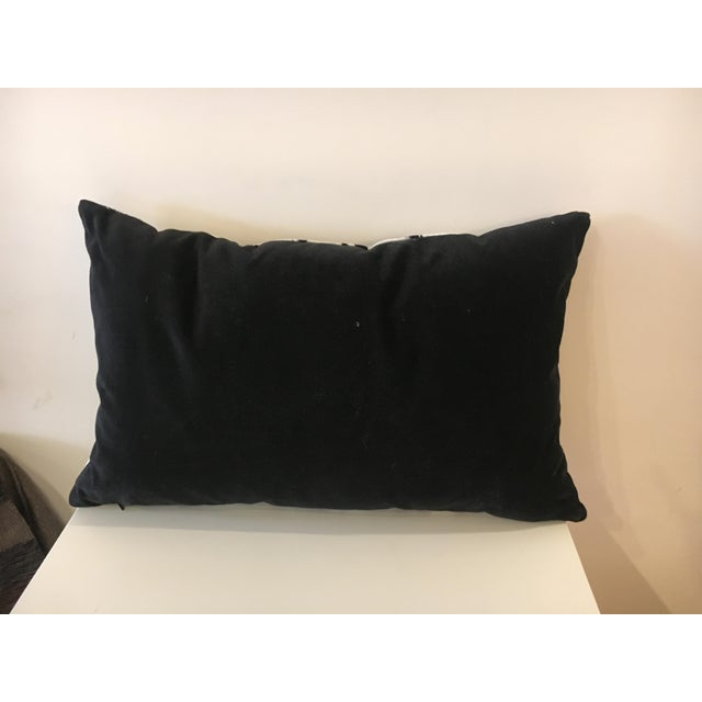 This is a Williams Sonoma Scalamandre Tiger pillow cover. Description from the website: Tiger stripes in black and white...