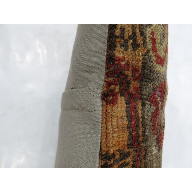 Hollywood Regency Turkish Rug Pillow For Sale - Image 3 of 3