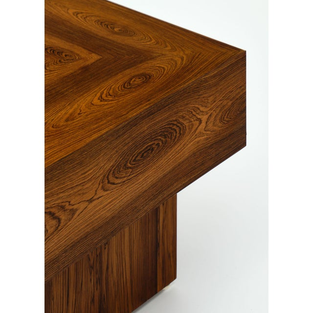 1930s Cubist French Wood Side Table For Sale - Image 5 of 11