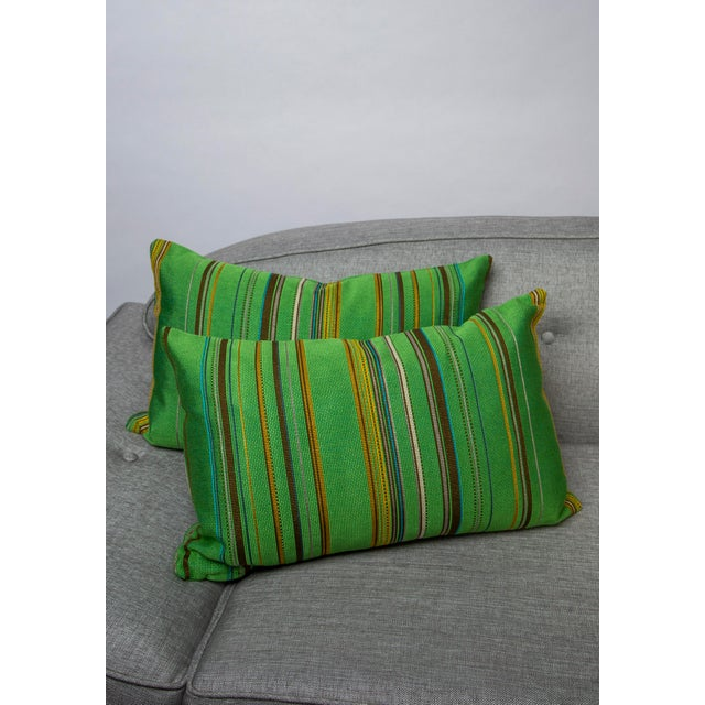 "22"" X 14"" Maharam Point by Paul Smith Down Pillows For Sale In Raleigh - Image 6 of 8"