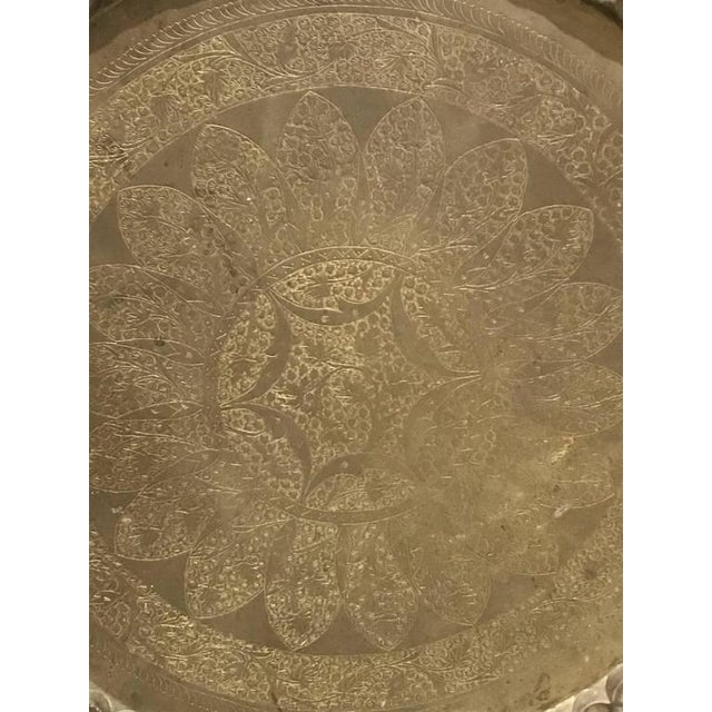Wall Plate or Plaque Depicting Geometric Motif - Image 2 of 8