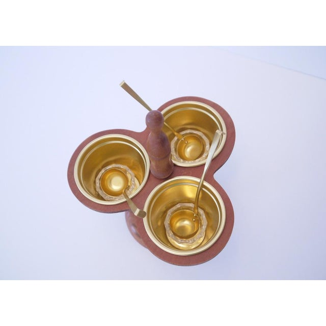 Mid-Century Sauce Tray Set For Sale - Image 4 of 6