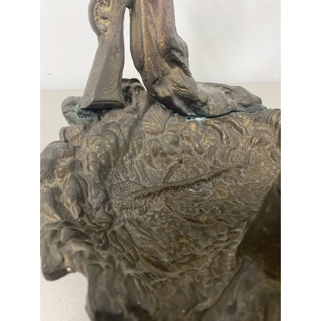 Early 20th Century Early 20th Century Cast Iron Fireplace Tool Stand or Umbrella Stand C.1920 For Sale - Image 5 of 11