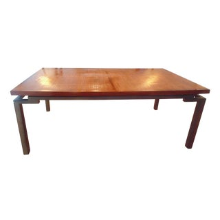 Roche Bobois Bamboo Dining Room Table For Sale