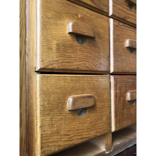 1940s Antique Multi Drawer Cabinet For Sale - Image 5 of 11