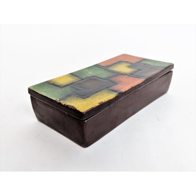 Italian Raymor Ceramic Box - Image 8 of 9