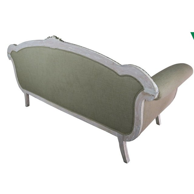 Italian Neoclassical-Style Painted Sofa - Image 6 of 7